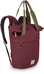 Рюкзак сумка Osprey Arcane Tote Mud Red