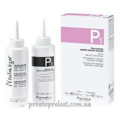 Fanola P1 Perm Kit for Normal Hair - Набор для химической завивки нормальных волос