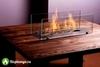 Журнальный столик с биокамином Firetable Small Brown 1000MS