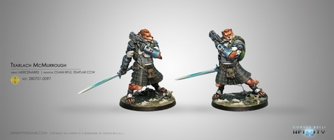 Tearlach McMurrough (2 Chain Rifle, Templar CCW)