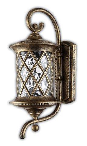 Светильник садово-парковый, 100W 220V E27 черное золото , IP44 , PL5031 (Feron)