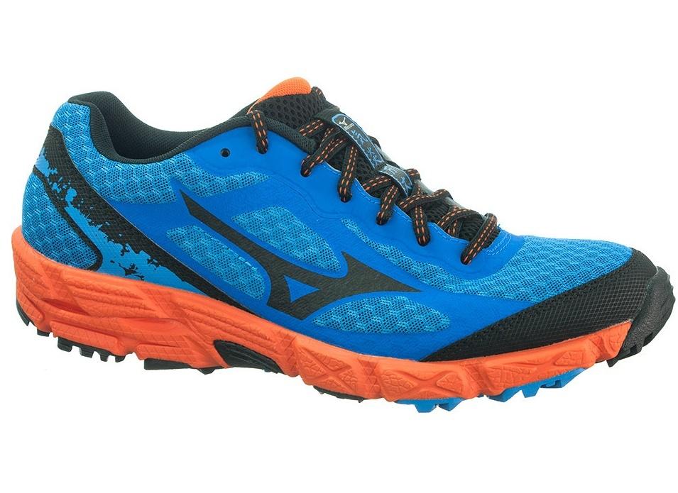 Мужские кроссовки для бега Mizuno Wave KIEN (J1GJ1473 09) синие