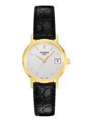 Женские швейцарские золотые часы Tissot T-Gold Goldrun T71.3.114.31