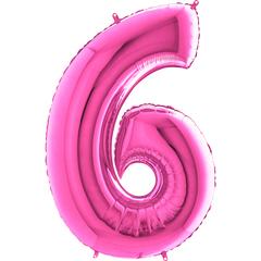 Цифра 6 (Фуксия)