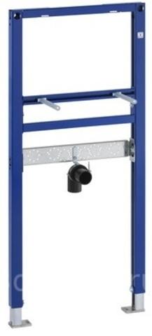 Система инсталляции для раковин Geberit Duofix 111.434.00.1 с вертикальным смесителем, высота 112 см