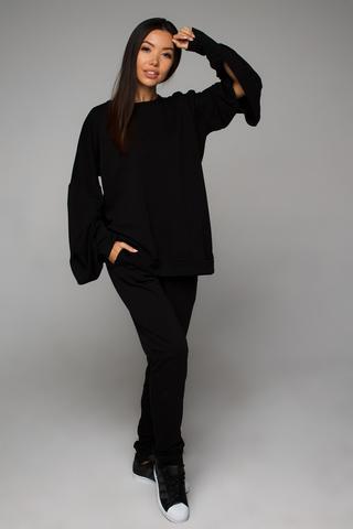 Cвитшот черный (верх от костюма) YOS