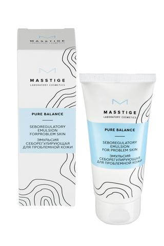 Masstige Pure Balance Эмульсия себорегулирующая для проблемной кожи 50г