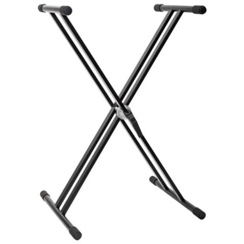 Стойка X-образная для цифрового пианино, двойная рама