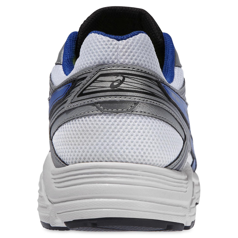 Мужские беговые кроссовки Asics Patriot 7 (T4D1N 0142) белые фото пятка