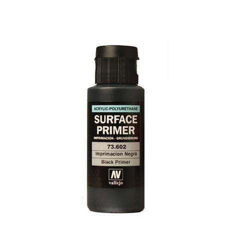 73602 Surface Primer акриловый полиуретановый грунт, черный (Black), 60 мл Acrylicos Vallejo