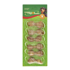 Triol лакомство для маленьких пород собак Кость узловая №2 длина 6 см, 6 штук в упаковке