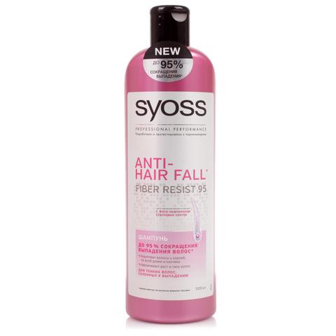 Шампунь Syoss Anti-Hair Fall для тонких и склонных к выпадению волос 500мл