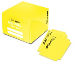 Ultra Pro - Жёлтая коробочка на 180 карт