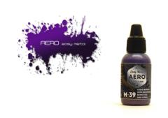 Pacific.AERO Сталь жжёная серо-фиолетовая (Burnt grey-purple steel) M