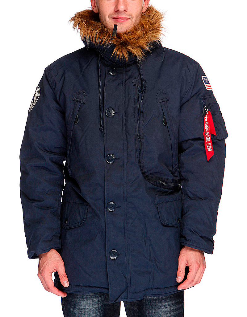 Куртка Аляска Зимняя - Polar Jacket Уценка! (т.синяя - R.blue)