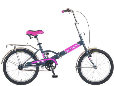 Велосипед 2-х колесный СКЛАДНОЙ Novatrack FP30 с ручным тормозом