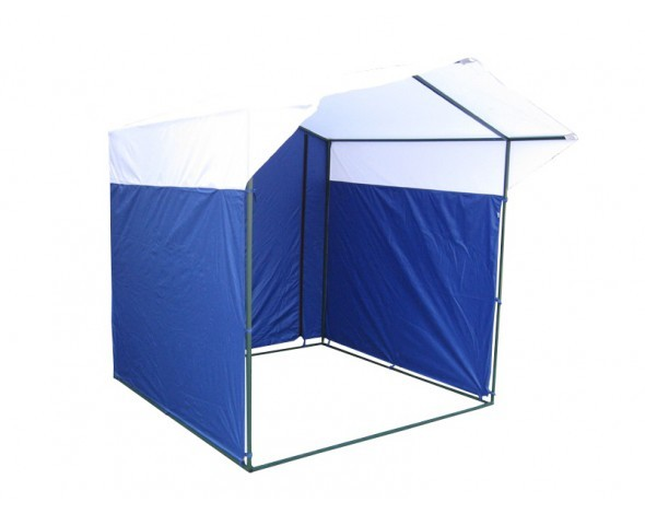 Торговая палатка Митек Домик 2x2 из квадратной трубы ⊡20х20 мм