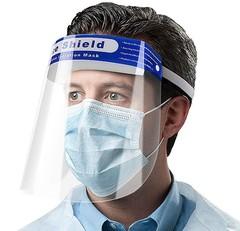 Многоразовый экран для защиты лица, глаз и органов дыхания «Face Shield».