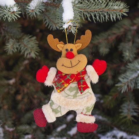 Игрушка елочная Rudolf текстил.