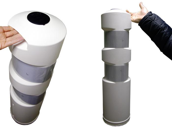Пластиковый дорожный столбик