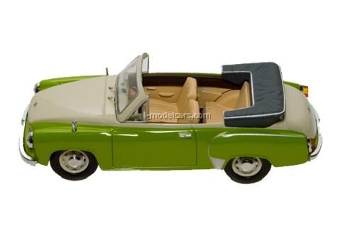 model cars wartburg 311 cabrio green white 1959 ist004 ist. Black Bedroom Furniture Sets. Home Design Ideas