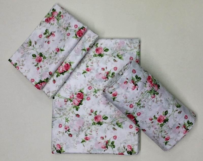 Постельное белье 2 спальное евро макси Mirabello Scented Rose белое