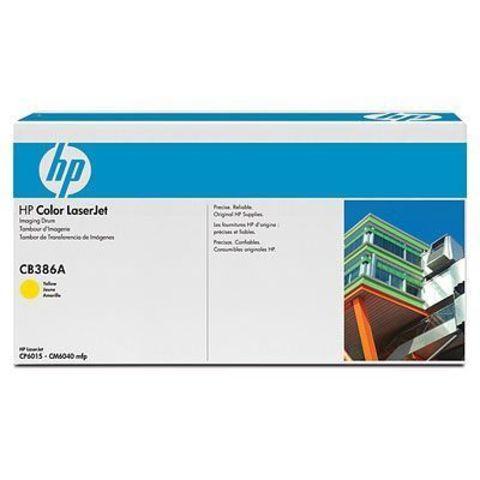 Картридж HP CB386A yellow - барабан передачи изображений для HP Color LaserJet CP6015, CM6030, CM6030f, CM6040, CM6040f (барабан желтый, 35000 стр.)