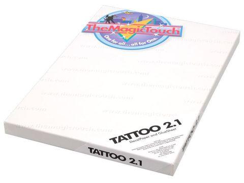 Бумага The Magic Touch Tattoo 2.1 A4 25 листов - для для временных татуировок на кожу