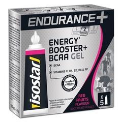 Энергетический гель Isostar Long Distance Energy + BCAA 5 штук по 20 грамм