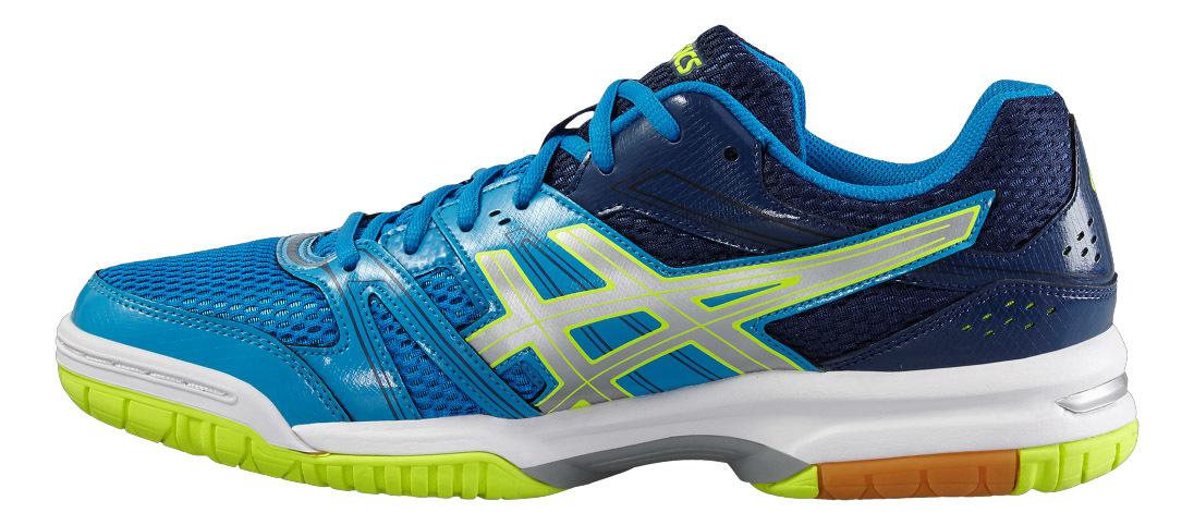 Мужские волейбольные кроссовки  Asics Gel-Rocket 7 B405N 4396 синие