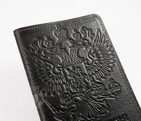 BC118 Обложка на паспорт с тиснением в виде герба России