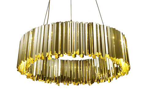 chandelier replica Facet by INNERMOST ( diam . 100) gold