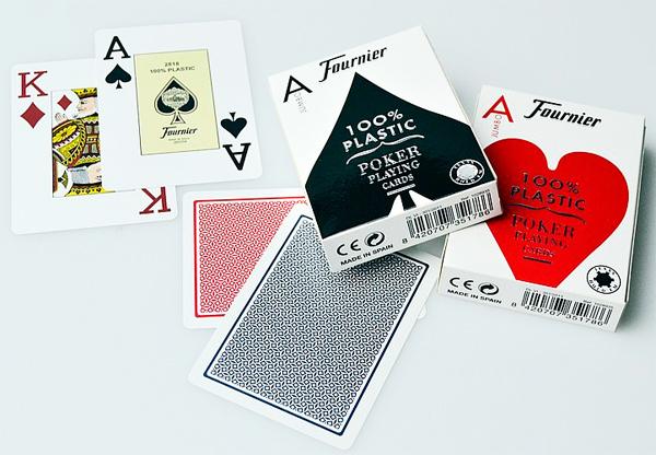 Карты Fournier для покера
