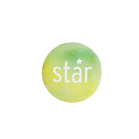 Значок Summer Star Green