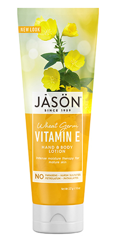 Оживляющий лосьон для рук и тела с витамином Е, Jason