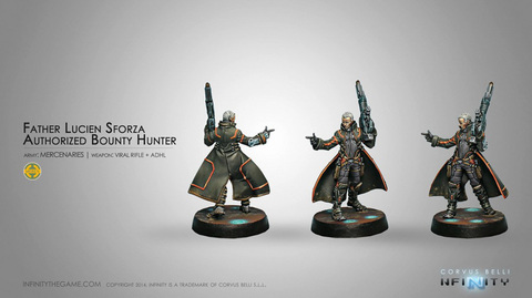 Father Lucien Sforza, Authorized Bounty-Hunter (Viral Rifle + ADHL)