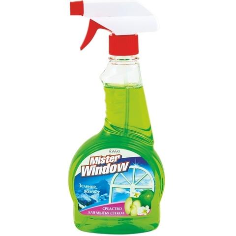 Фабрика Ромакс Mister Window Средство для мытья окон Зеленое яблоко 500мл