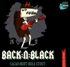 Пиво Back'n'Black Волковская Пивоварня