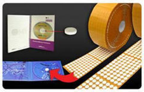 Спайдер для крепления CD, DVD дисков, самоклеящийся