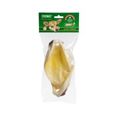 Titbit лакомство для собак Ухо говяжье № 2, мягкая упаковка