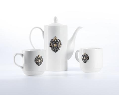 Чайный фарфоровый набор «Отчизна».