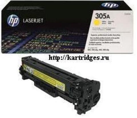 Картридж Hewlett-Packard (HP) CE412A №305A