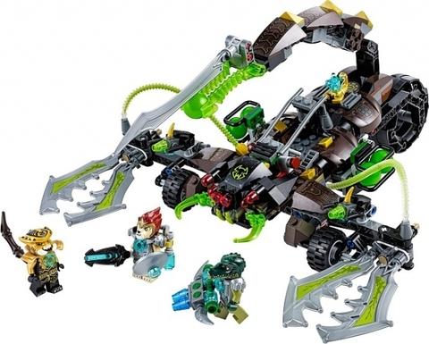 LEGO Chima: Жалящая машина скорпиона Скорма 70132