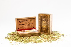 Набор мыла в шкатулке ручной работы Мозаика, 6 шт, 900g ТМ Клеопатра