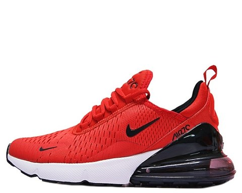 Nike Air Max 270 Flyknit Red Black (023)