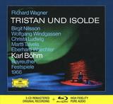 Birgit Nilsson, Wolfgang Windgassen, Christa Ludwig, Martti Talvela, Eberhard Waechter, Karl Bohm, Bayreuther Festspiele 1966 / Richard Wagner: Tristan Und Isolde (3CD + Blu-ray Audio)