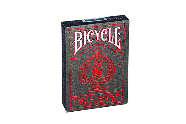 Bicycle Foil Back Metalluxe Crimson (красный)