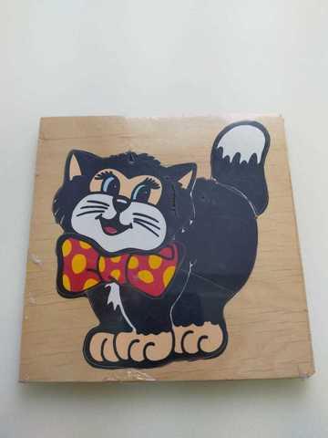 Черный кот (доска без подслойки)