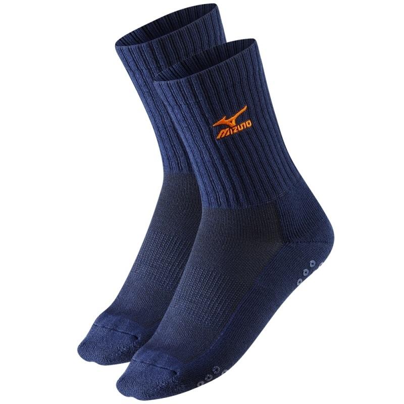 Волейбольные носки Mizuno Volley Sock Medium (67XUU7151 86) синие
