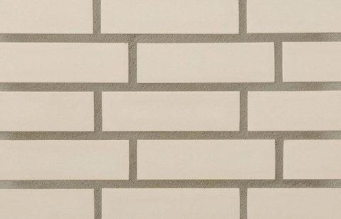 Stroeher, облицовочная клинкерная плитка, цвет 140 weib, серия Keravette, unglasiert, неглазурованная, гладкая, 240x71x11
